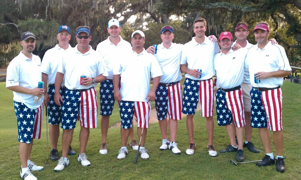 ... the heavily fortified Bhenke island team last week in Myrtle Beach, SC.